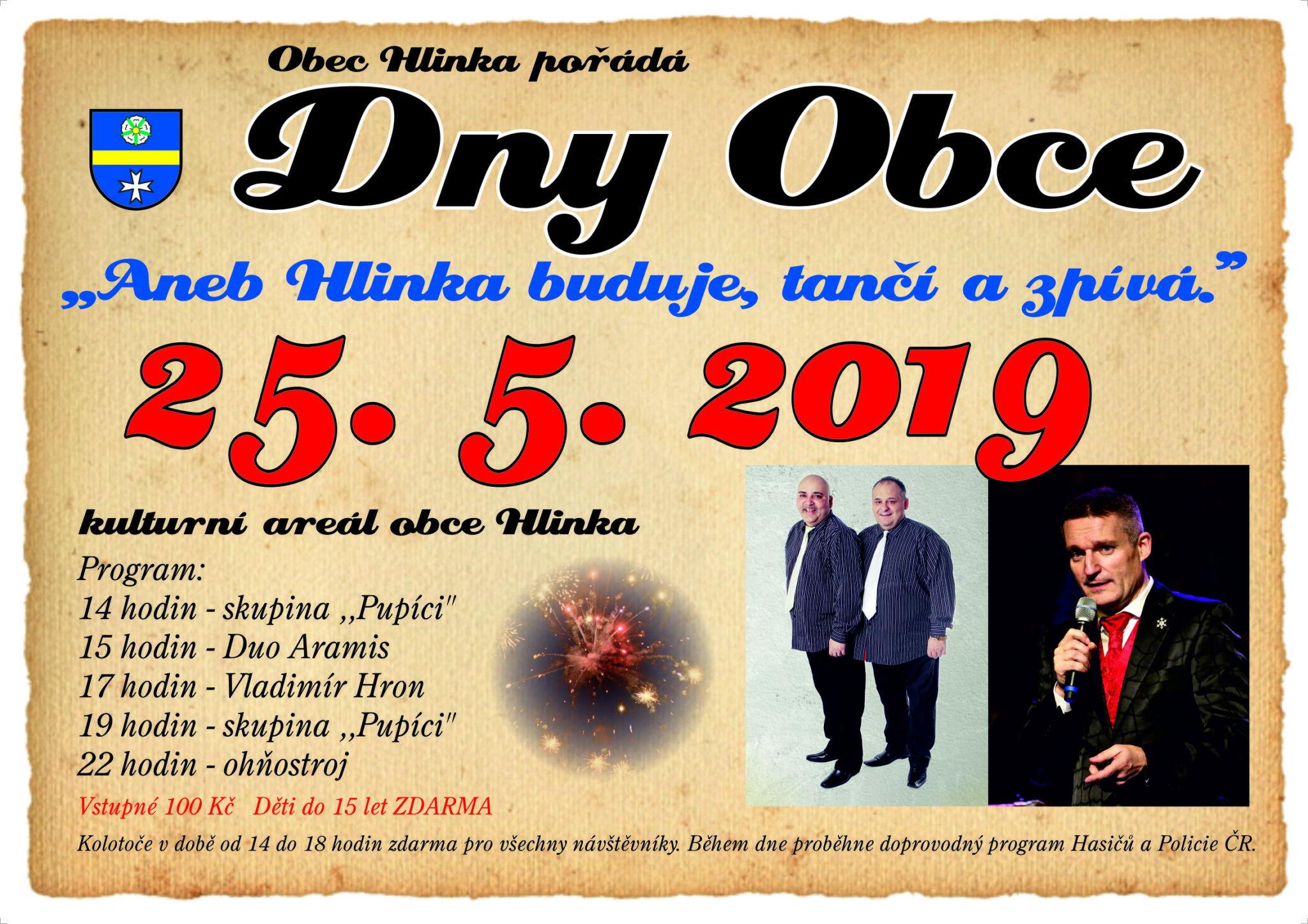 Slider image of Obec Hlinka website homepage